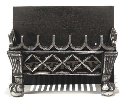 A LATE REGENCY CAST IRON FIREG