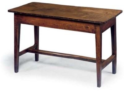 AN ENGLISH ELM TAVERN TABLE