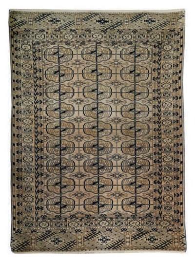 A Bokhara rug & Hamadan rug