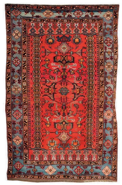 A lot of two Derbend rugs