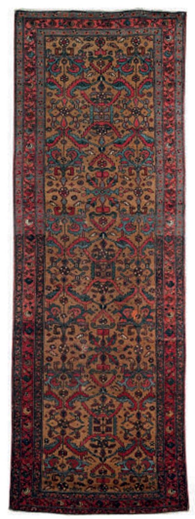 A Hamadan rug and North-West P