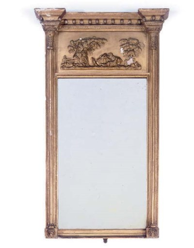 A LATE REGENCY GILTWOOD AND GE