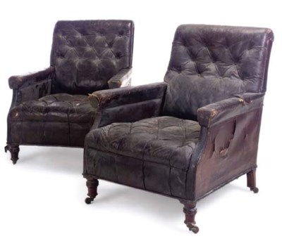 A PAIR OF LATE VICTORIAN FAUX