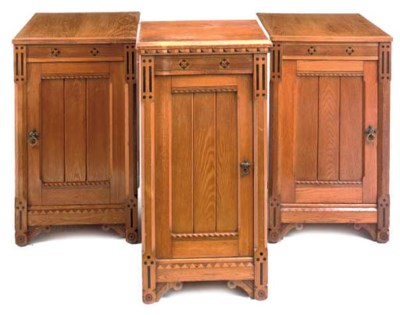 A PAIR OF LATE VICTORIAN ASH B