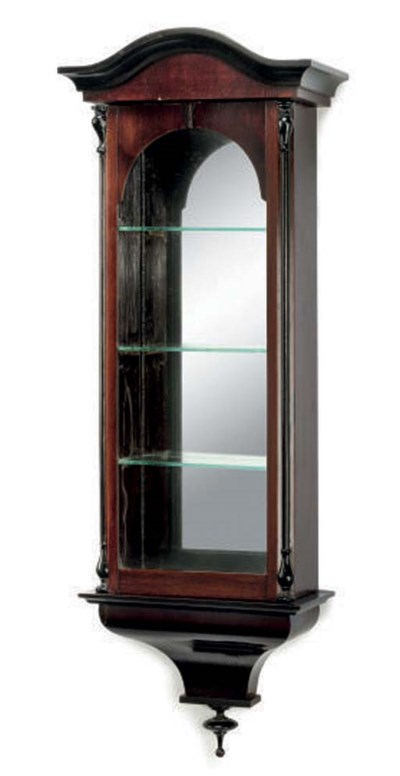 A CONTINENTAL STAINED MAHOGANY