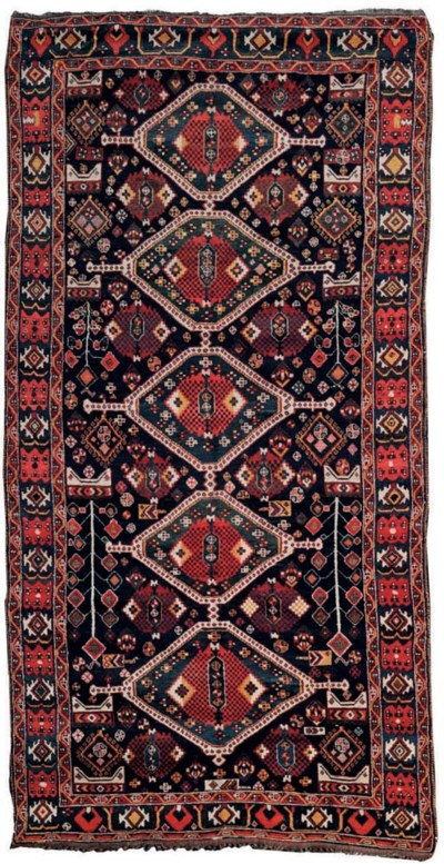 A large Qashqai rug, South-Wes