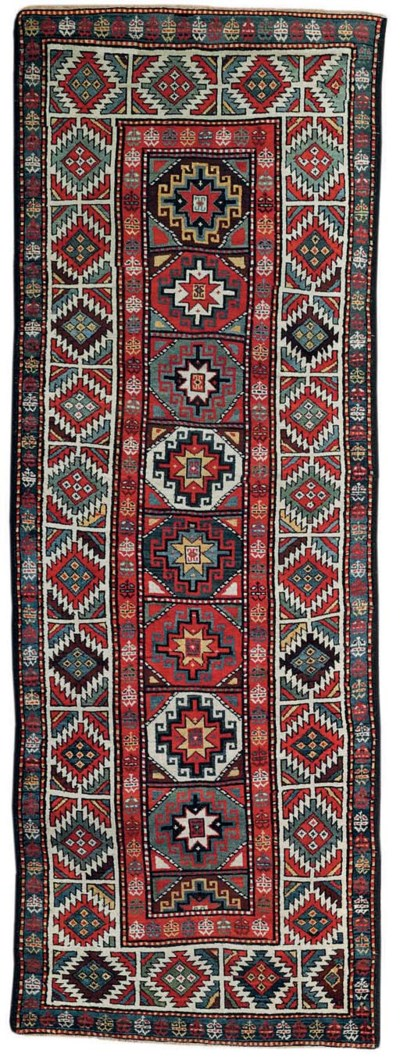 An antique Moghan long rug, So