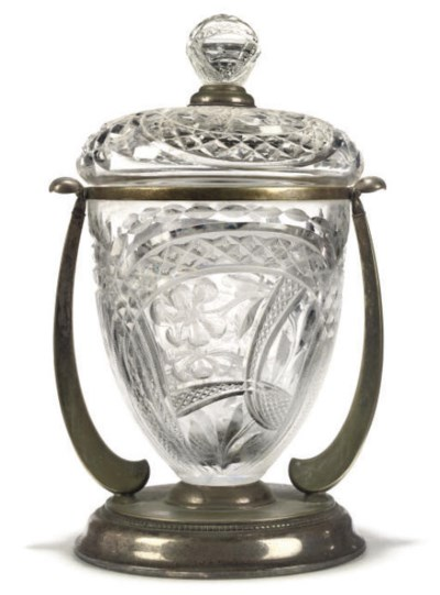 A CONTINENTAL SILVER-PLATED AN