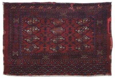 A antique part silk Tekke Juva