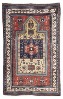 An Erevan prayer rug & Karabag