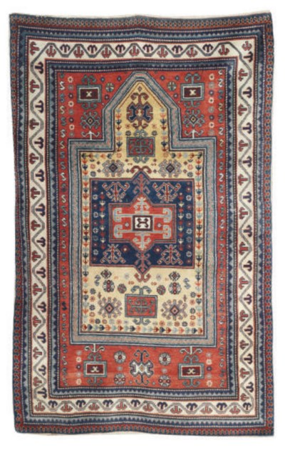 An Erevan prayer rug & Karabag