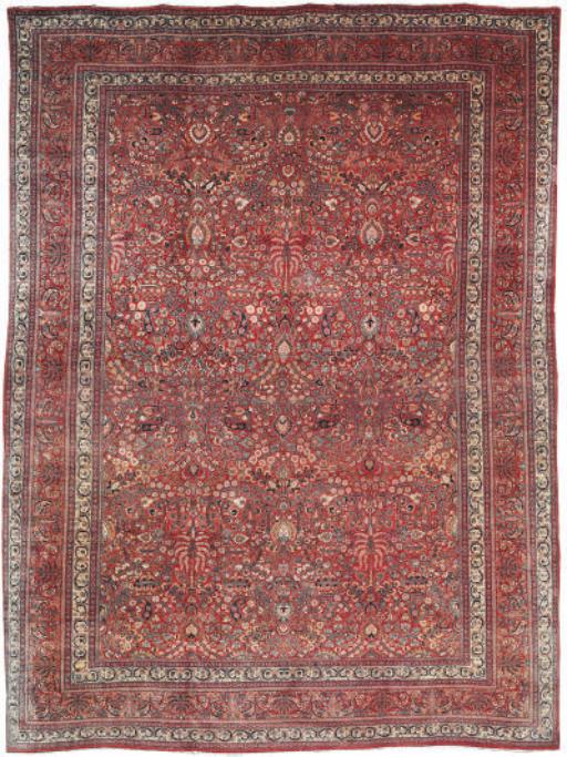 A fine fMeshed carpet