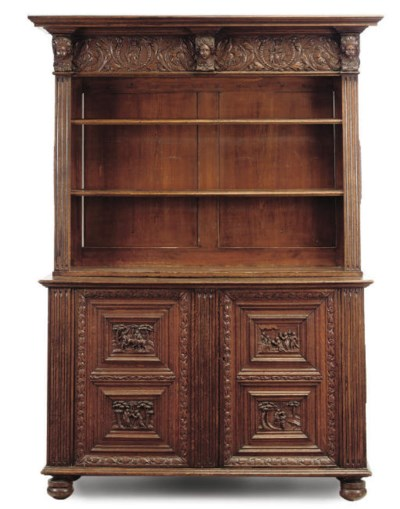 A NORTH EUROPEAN OAK DRESSER