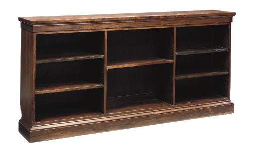 A ROSEWOOD BOOKCASE