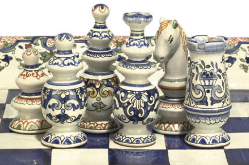 A FRENCH FAIENCE 'REGENCE' PAT