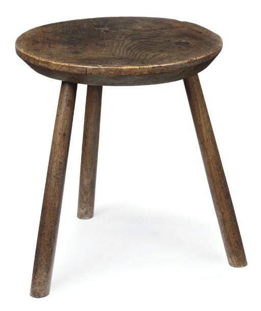 AN ENGLISH ASH CRICKET TABLE