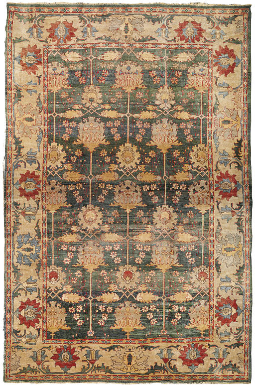 An Arts & Crafts style carpet