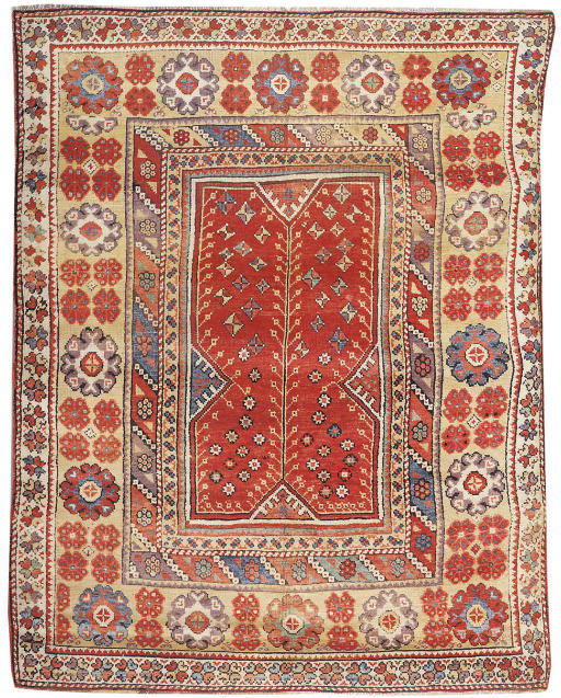 An antique Melas rug, Turkey