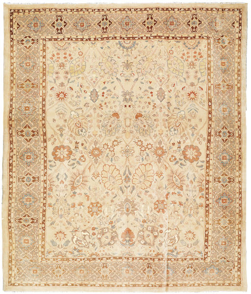 A massive modern Tabriz carpet