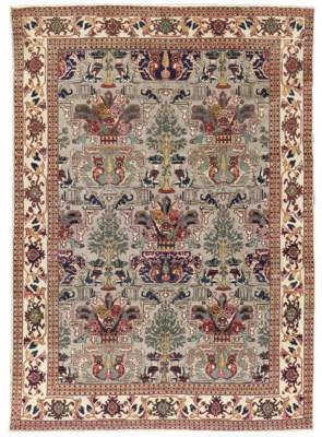 A similar Tabriz carpet, North
