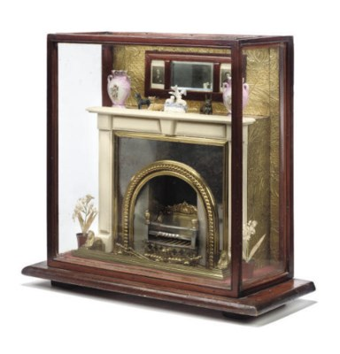 A LATE VICTORIAN POLISHED STEE