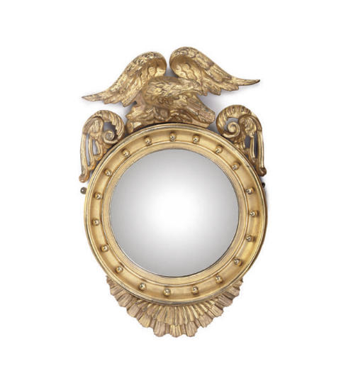 AN EARLY VICTORIAN GILTWOOD CO