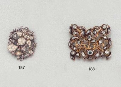 AN 18TH CENTURY DIAMOND PANEL