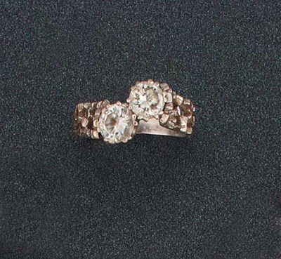 A DIAMOND TWO STONE