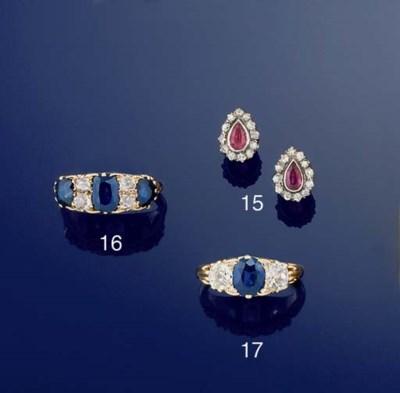 A diamond and sapphire seven s