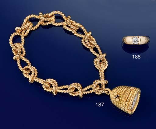 A pendant watch bracelet by Ve