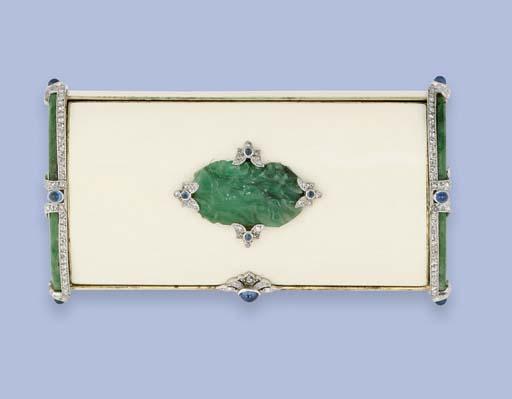An American Art Deco diamond,