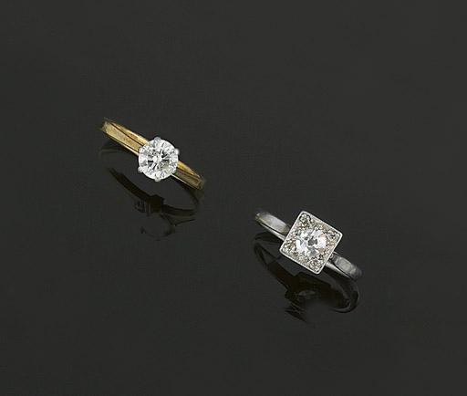 TEN DIAMOND RINGS