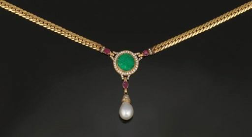 A diamond, jade, ruby and cult