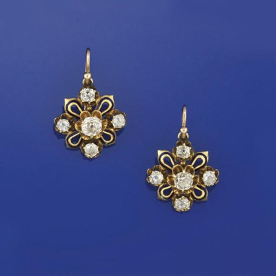 A PAIR OF LATE 19TH CENTURY DI