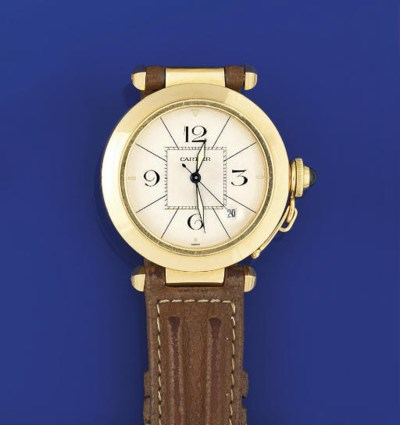 AN 18CT GOLD AUTOMATIC