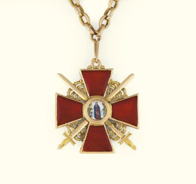 A Russian award of the Order o