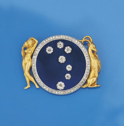 A diamond set astrological bro