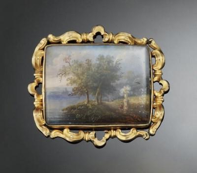 A 19th century painted minatur