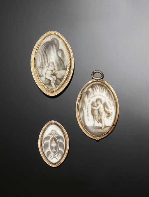 A SMALL GROUP OF LATE 18TH CEN