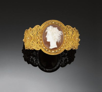 A LATE 19TH CENTURY GOLD AND S