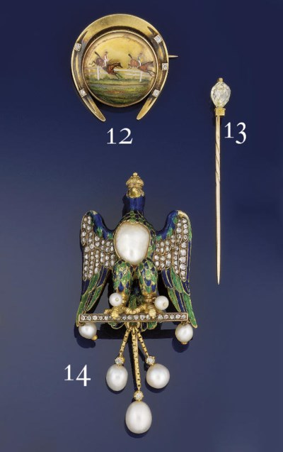 A LATE 19TH CENTURY GOLD AND R