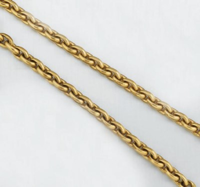 A necklace and bracelet
