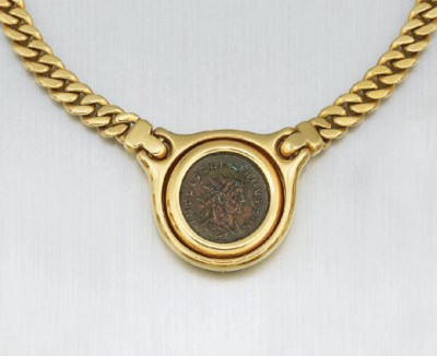 A COIN NECKLACE, BY BULGARI