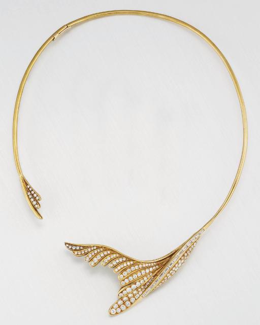 A DIAMOND NECKLACE, BY ENRICO