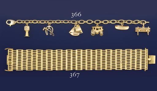 A charm bracelet, by Van Cleef