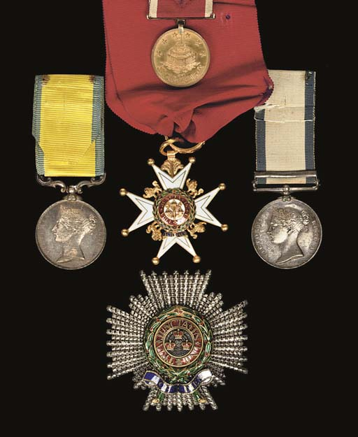 ADMIRAL SIR HENRY BYAM MARTIN, K.C.B: MEDALS AND DECORATIONS