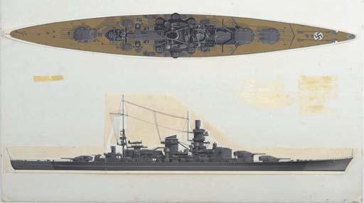 ORIGINAL ARTWORK FROM 'WARSHIP