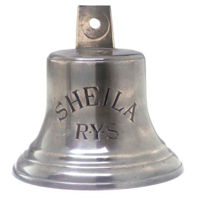 A BELL FROM THE YACHT SHEILA