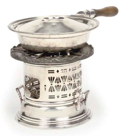 A TABLE BURNER FROM R.M.S. QUE
