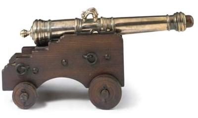 A 19TH-CENTURY SIGNAL GUN